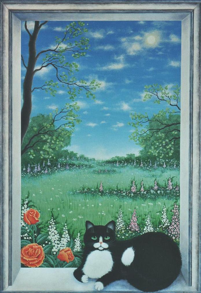 Finestra con gatto for Finestra gatto